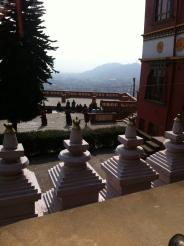 Les 4 stupas de la réalisation spontanée